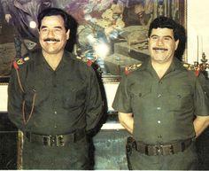 Image combines with Saddam Hussein Adnan Khairallah Saddam Hussein, Chef Jackets, People, Image, Fashion, Socialism, Moda, Fashion Styles, People Illustration