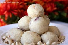 Rava Laddoo or Rava Laddu    We had these at our favorite Indian Restaurant and loved them, but we have found that Indian recipes vary from cook to cook.  This recipe will get us started.    We had these at our favorite Indian Restaurant, so of course, I have to try and make them, too!