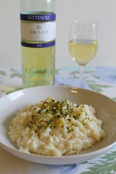 La Tavola Allegra: Risotto con Gorgonzola Dolce e Granella di Pistacchio