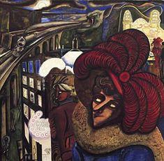 Edward Burra (1905-1976) – Blues for Ruby Matrix (1934) Gouache et encre - Collection privée