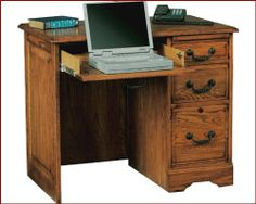 """Winners Only 36"""" Computer Flattop Desk WO-H136F by Winners Only. $614.00. Winners Only 36"""" Computer Flattop Desk WO-H136F in Dark Oak or Light Oak finish. Includes: 1 x Computer Flattop Desk WO-H136F Dimensions: Computer Flattop Desk ? 36?W x 23?D x 30?H Features: Constructed with select hardwood solids and veneers. Kneehole Area: 20?W x 20?D x 24?H Standard Pedestal Secretary Pullout Drop Front Center Drawer"""