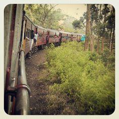 Trains across Sri Lanka