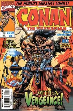 Conan the Barbarian - Stalker in the Woods 1 2 3 complete set ---> shipping is $0.01!!!