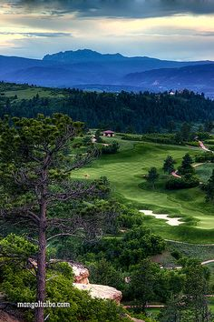 Golf Course Daniels park, Colorado | Flickr - Photo Sharing!