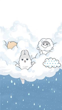 Rabbit Wallpaper, Wallpaper Wa, Emoji Wallpaper, Cute Wallpaper Backgrounds, Kawaii Wallpaper, Tumblr Wallpaper, Cellphone Wallpaper, Cute Wallpapers, Scenery Wallpaper