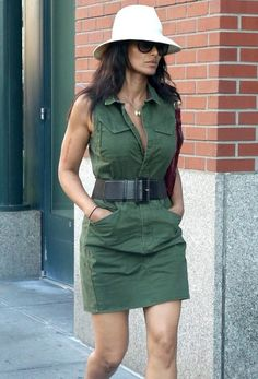 'Top Chef' host Padma Lakshmi is seen out and about in New York City.