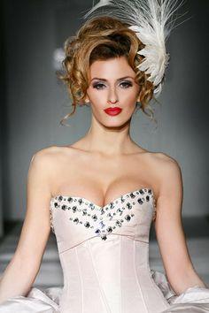 Bridal beauty with big hair!