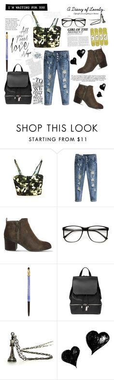 """""""beautifulhalo.com /// day off. <3"""" by tatjana ❤ liked on Polyvore featuring Office, Lancôme, COSTUME NATIONAL, Topshop, women's clothing, women, female, woman, misses and juniors"""