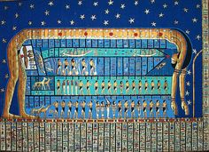 NUT: In Egyptian mythology, Nut was the Goddess of the Sky. Her ...