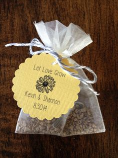 Hey, I found this really awesome Etsy listing at https://www.etsy.com/listing/188512934/flower-seed-wedding-favors-events