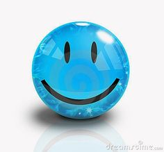 Smile, Don't Worry Be Happy!  #berryblue