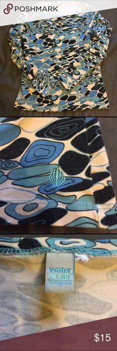 Long Sleeve Patagonia/Water Girl Pebble design long sleeve Patagonia slim fit shirt. Patagonia Tops Tees - Long Sleeve