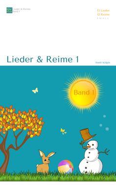 """""""Lieder & Reime 1"""" - 13 Lieder / 12 Reime - Themen: Jahreszeiten / Morgnekreis / Fasching / Ostern / Muttertag /  Laternenfest / Halloween - ideal für Tablet & Computer - auch in s/w zum Ausdrucken - www.kitakiste.jimdo.com"""