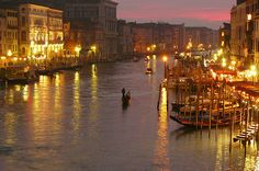 the tourist: Top attractions of Venice , Italy