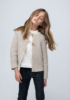 Fashion for girls Sainte Claire AW Girls Sweaters, Cardigans For Women, Cute Clothes For Juniors, Stylish Outfits, Kids Outfits, Teenager Mode, Kids Poncho, Kids Winter Fashion, Winter Mode