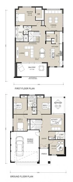Take advantage of the view with this reverse living two storey home design. Featuring a large balcony, that extends from the open plan living, dining and kitchen area and links to a private scullery, this home is the entertainers dream. A home theatre upstairs as well as the large master bedroom and ensuite providing the …