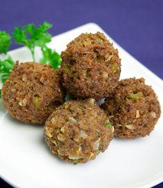Wheat Balls (Seitan) #recipe