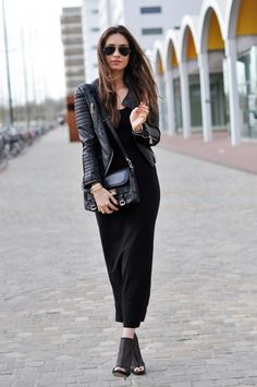 street style... I have the shoes, now just need the dress, jacket, bag & sunglasses :-) shopping...here I come!!!