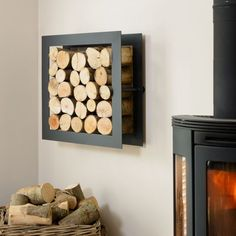 Harrod Square Steel Log Holder is a beautifully designed log store built to last.