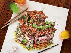 Dribbble - Tiny House by Mike   Creative Mints