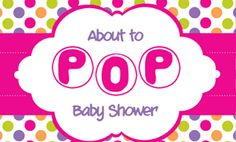 My Ramblings: About to Pop Baby Shower Part 4: Decorations and F...
