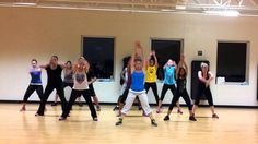 """Blurred Lines"" by Robin Thicke: Dance Fitness Choreography"