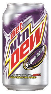Diet Mountain Dew Supernova