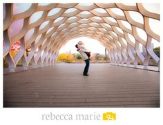 The Honeycomb in Lincoln Park // chicago wedding photo locations, bride and groom, engaged, engagement