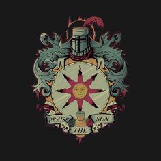 CREST OF SOLAIRE T-Shirt - Dark Souls