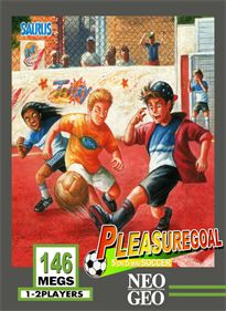 Pleasure Goal: 5 on 5 Mini Soccer Details - LaunchBox Games Database Neo Geo, Soccer Games, Flyers, Videogames, Goals, Baseball Cards, Tv, Mini, Sports