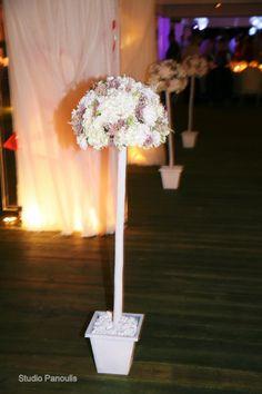 Γάμος με ορτανσίες Athens, Wedding Decorations, Wedding Decor, Athens Greece