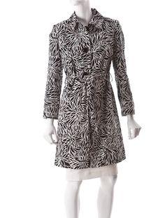 Milly Chrysanthemum-Print Coat