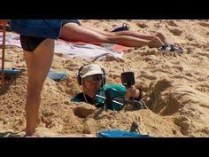 Ellen's Writers Visit Australia Beach - #funny #prank