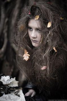 Eine schnelle Hexenfrisur DIY-Idee zu Halloween + mehr - marieola - food and lifestyle blog