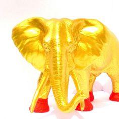 Gouden Olifant in Stolp <3