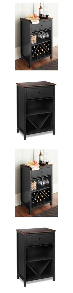 Home Pubs and Bars 115713: Mini Wine Bar Furniture Cabinet Liquor Wood Rack Stemware Bottles Accessories -> BUY IT NOW ONLY: $174.99 on eBay!