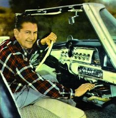Automobile in-dash record players - Lawrence Welk in his 1955 Dodge by Don Boyd Vinyl Record Player, Record Players, Vinyl Records, The Lawrence Welk Show, Retro Pop, Phonograph, Back In The Day, First World, Evolution