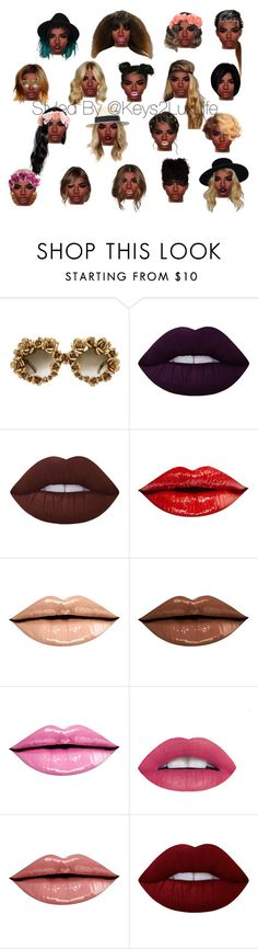 """Hair"" by keys2luxlife on Polyvore featuring beauty, A-Morir by Kerin Rose, Lime Crime, Beauty, hair and styleicon"
