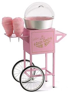How sweet... Pink cotton candy