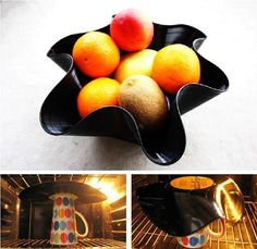 DIY record into a bowl diy crafts craft ideas easy crafts diy ideas diy idea diy home easy diy crafty decor home ideas diy decorations Easy Diy Crafts, Home Crafts, Vinyl Diy, Vynil, Record Crafts, Record Bowls, Recycling, Do It Yourself Wedding, Cool Ideas