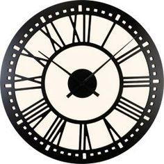 "40"" Tower clock http://www.clocksaroundtheworld.com/rcc-black-tower-clck.html"