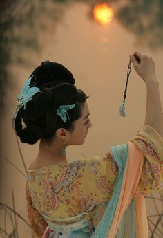 Chinese dress - hanfu # cool hair and dress a majig