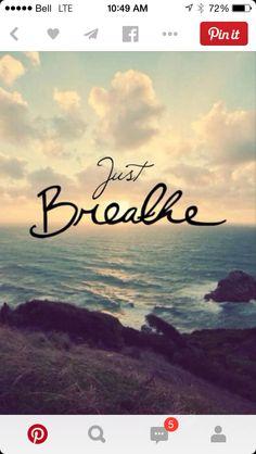 Solo respira.
