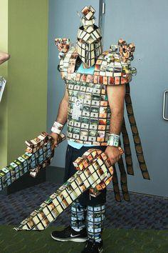 Magic: The Gathering card armor