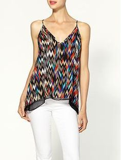 Eight Sixty Printed Layered Tank | Piperlime