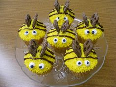 Little miniature Buzz cupcakes, complete with chocolate-covered pretzel wings!