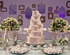 Decoração de casamentos com espelhos. #casamento #decoração #espelhos