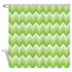 Shop Chevron Green Striped Zigzag Shower Curtain designed by HomewiseShopper. Lots of different size and color combinations to choose from. Custom Shower Curtains, Fabric Shower Curtains, Green Stripes, Zig Zag, Soap Dispenser, Chevron, Delicate, Prints