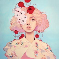 Les filles illustrées de Kelsey Beckett