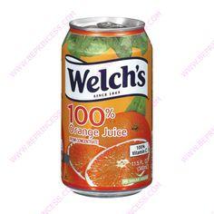 Juice, Welch's Orange oz Cans Welch Juice, Fanta Can, Vitamin C, Salsa, Cookies, Canning, Orange, Anime, Ideas